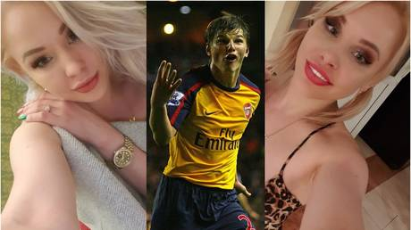 Andrey Arshavin - Getty Images / Alex Livesey (center); VKontakte / Lola Taylor (left and right)