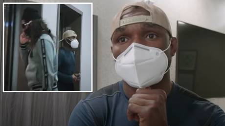 Kamaru Usman almost bumped into rival Jorge Masvidal while in pre-flight quarantine in Las Vegas
