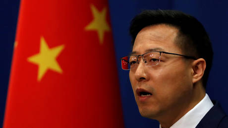 Chinese Foreign Ministry spokesman Zhao Lijian. © Reuters / Carlos Garcia Rawlins / File Photo