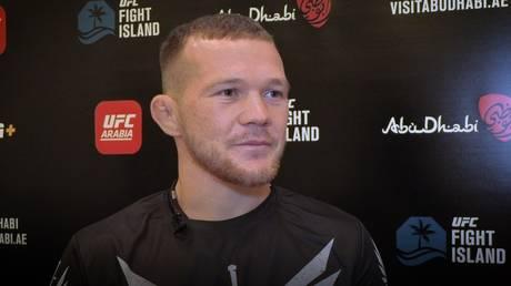 UFC bantamweight title contender Petr Yan. © RT Sport