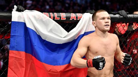 Russian UFC fighter Petr Yan. © Getty Images / Zuffa LLC