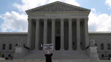 US Supreme Court in Washington, US, July 9, 2020. ©Reuters / Leah Millis