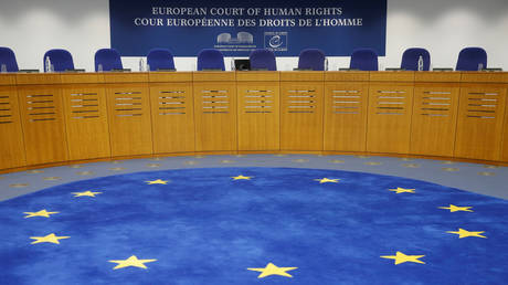 The courtroom of the European Court of Human Rights. © Reuters / The courtroom of the European Court of Human Rights