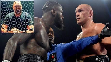 Tyson Fury and Deontay Wilder © Instagram / gypsyking101 | Joe Camporeale / USA TODAY Sports via Reuters