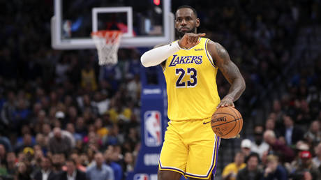 Los Angeles Lakers forward LeBron James © REUTERS / Kevin Jairaj