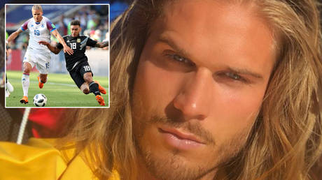 'I find it DISGUSTING': Heartthrob who was compared to BRAD PITT at World Cup in Russia says fans sent requests for his SPERM