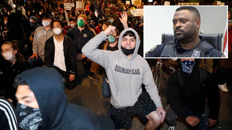 'You've the biggest nose I've ever seen': Black Portland cop details racist abuse dished out by white BLM protesters