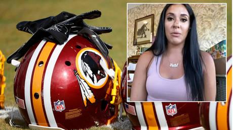 Emily Applegate has made accusations against NFL team Washington Redskins © YouTube / Washington Post | © Geoff Burke / USA Today Sports via Reuters