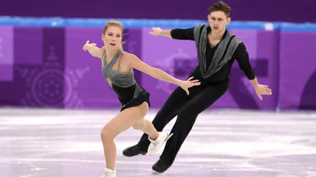 Late figure skater Ekaterina Alexandrovskaya and partner Harley Windsor. © Getty Images