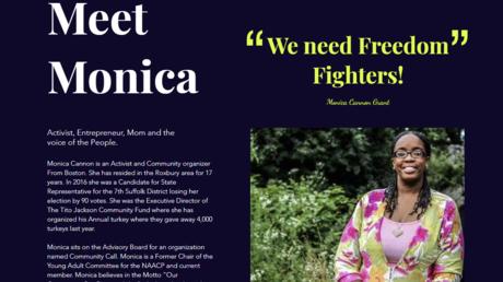A profile of Black Lives Matter activist Monica Cannon-Grant.