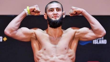 Rising star: UFC welterweight Khamzat Chimaev