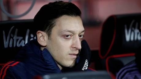 Staying put: Mesut Ozil
