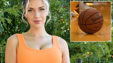 Paige Spiranac has discussed the NBA bubble © Instagram / _paige.renee   © Richard Mackson / USA TODAY Sports via Reuters