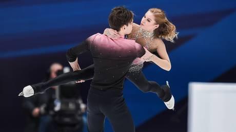 Ekaterina Alexandrovskaya and Harley Windsor © Global Look Press / Xinhua / Evgeny Sinitsyn