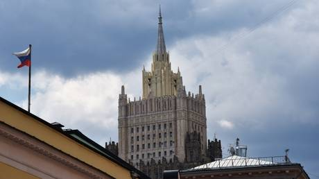 Russian Foreign Ministry HQ on Smolenskaya-Sennaya Square in Moscow. © Sputnik / Natalia Seliverstova