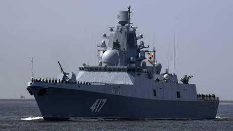 Russian Navy's frigate Admiral Gorshkov © Sputnik / Alexander Galperin