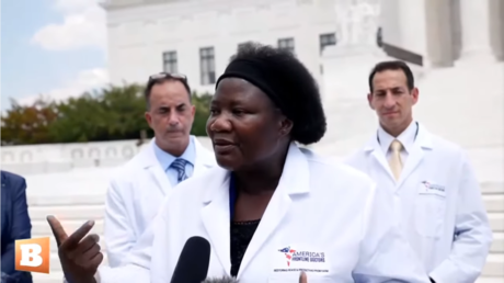 Doctor Stella Immanuel  © YouTube/ Breitbart News