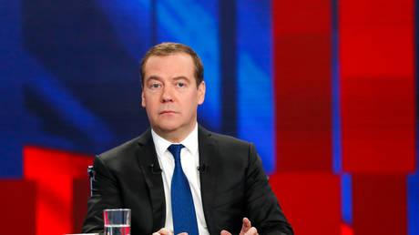 FILE PHOTO: Dmitry Medvedev