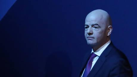 FIFA president Gianni Infantino - Reuters / YVES HERMAN