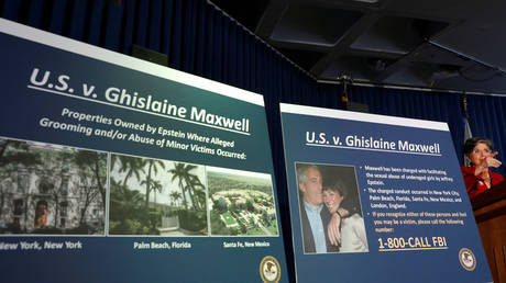 FILE PHOTO: US Attorney Audrey Strauss speaks at a news conference announcing charges against Ghislaine Maxwell for her role in the sexual exploitation and abuse of minor girls by Jeffrey Epstein.