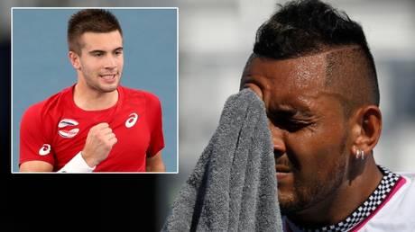 Borna Coric (left) and Rafael Nadal have clashed over Novak Djokovic's Adria Tour © Asanka Brendon Ratnayake / Reuters | Geoff Burke / USA Today Sports via Reuters