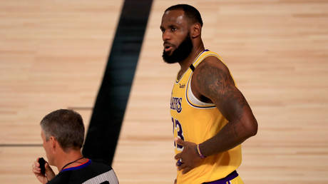 LeBron James © Getty Images via AFP / GETTY IMAGES NORTH AMERICA / Mike Ehrmann