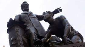 Boston to pull Lincoln emancipation memorial following activist outcry over 'demeaning' depiction of freed slave
