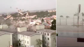 Bomb cyclone lives up to its name, wreaking havoc on Curitiba, Brazil (VIDEOS)