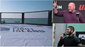 'I can't WAIT to get there': UFC boss Dana White shows off 'BADASS' Fight Island as champ Khabib calls masterplan 'CRAZY' (VIDEOS)