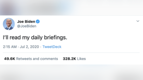 'I'll read my daily briefings': Joe Biden hailed online for setting 'lowest bar ever' for US president