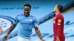 'It's just a game people': Sterling laughs off abuse as Man City HUMBLE Premier League champs Liverpool in 4-0 rout (VIDEO)