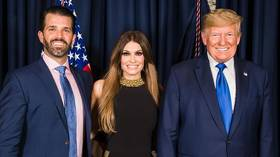 Donald Trump Jr's girlfriend Kimberly Guilfoyle tests positive for Covid-19 after flying for president's Mt Rushmore event