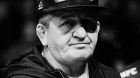 Rest in peace: Khabib's father Abdulmanap Nurmagomedov laid to rest in his home village in Dagestan