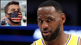 'I'm right here with you': LeBron James backs Bubba Wallace over 'HATE from the president' as NASCAR star continues row with Trump