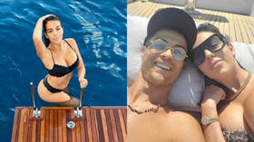 'The most beautiful woman on Earth': Cristiano Ronaldo WOWED by girlfriend's bikini shot