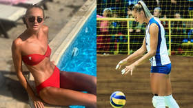 'Maybe someone will fall in love with volleyball': Ukrainian player Ludmila Osachuk shares saucy pics on Instagram (PHOTOS)