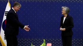 US envoy 'not seeking' to meet N. Korean officials during visit to Seoul but says Washington open to talks