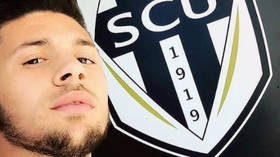 International footballer 'faces a YEAR in jail after being arrested for public MASTURBATION for SECOND TIME this year' in France
