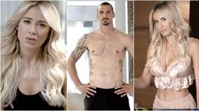 'What are you waiting for?' Italian TV presenter Diletta Leotta hooks up with Zlatan for workout as striker teases super-fit host