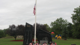 9/11 memorial to lost firefighters destroyed by vandals in New York State