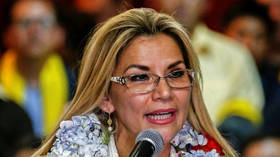 Bolivia's acting president Jeanine Anez confirms she tested positive for coronavirus