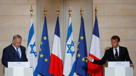 Macron urges Israel to nix West Bank annexation amid growing international outcry