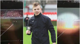 'His whole chest was BURNT': Coach who saved 16yo keeper's life after he was struck by LIGHTNING describes horror (VIDEO)