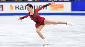 'I'm at an age where it's difficult to learn quads,' says 20yo Russian figure-skating champ Evgenia Medvedeva