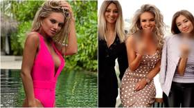 Russia's 'hottest football wife' shares sick abuse she received after giving middle finger to opposition team (PHOTOS)