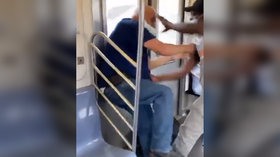 'Heinous and unprovoked' stabbing spree on New York subway caught on VIDEO
