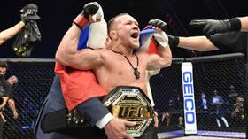 Russia's Petr Yan FINISHES legend Jose Aldo to win bantamweight CHAMPIONSHIP title at UFC 251