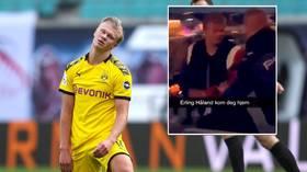Borussia Dortmund teenage sensation Erling Haaland 'thrown out of nightclub' in native Norway (VIDEO)