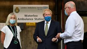 Mask or £100 fine: Boris Johnson's government ORDERS Britons to cover up for Covid-19 after saying it wouldn't