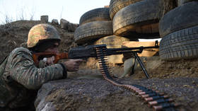Armenia says it shot down Azerbaijani drone as fierce border clashes continue into third day (VIDEO)